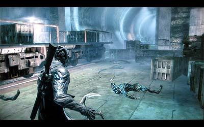 ビハインドビューのアクションガンシューティングゲーム