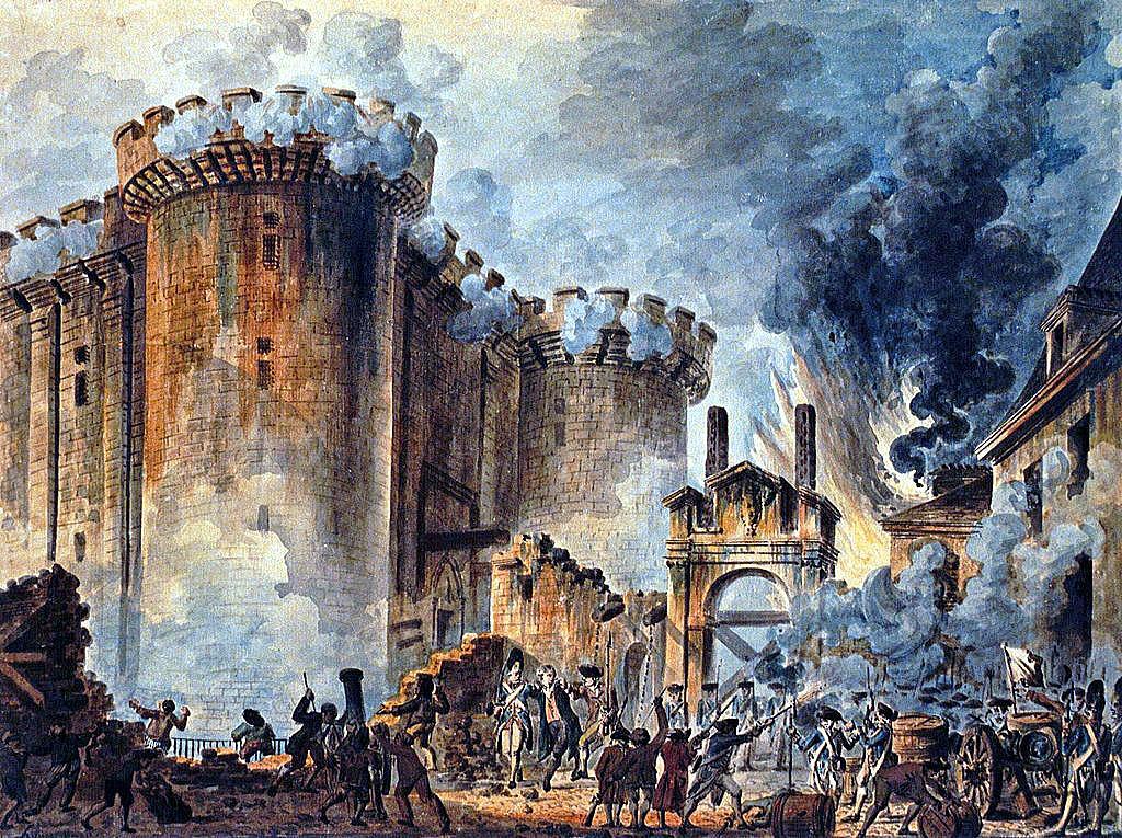 フランス革命 バスチーユ襲撃 ...