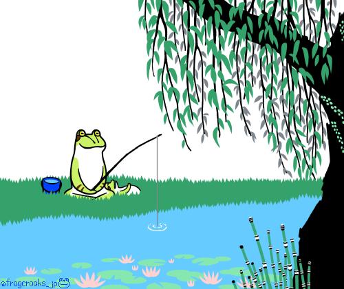 蛙池 睡蓮