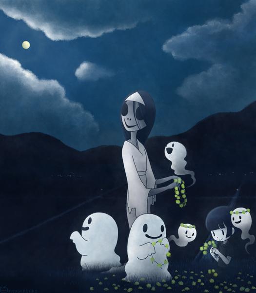 夜遊びオバケちゃん