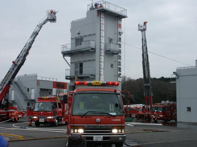 平成22年 市原市消防出初式