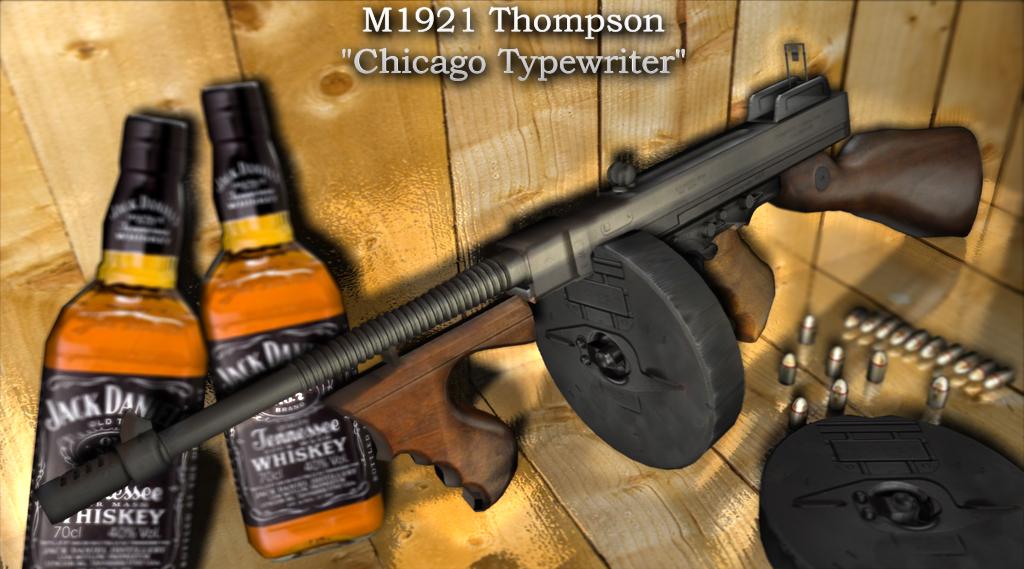 M1921 Thompson - トンプソン・...